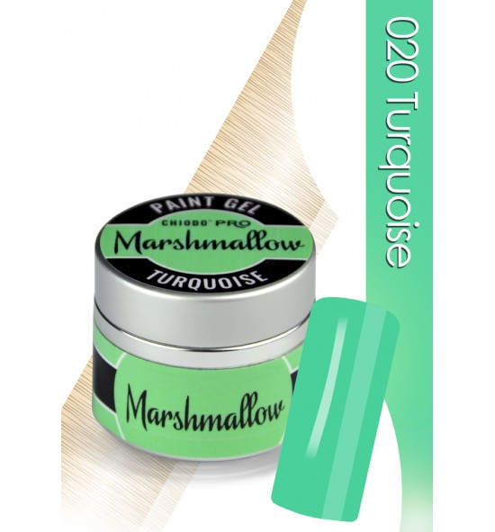 Chiodo Pro  Żel linia marshmallow turquoise nr 020