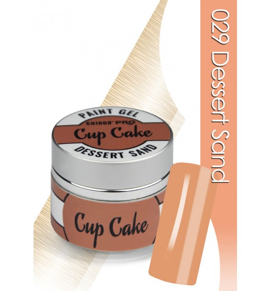 Chiodo Pro  Żel linia cup cake dessert sand 029