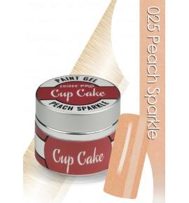 Chiodo Pro  Żel linia cup cake peach sparkle 025