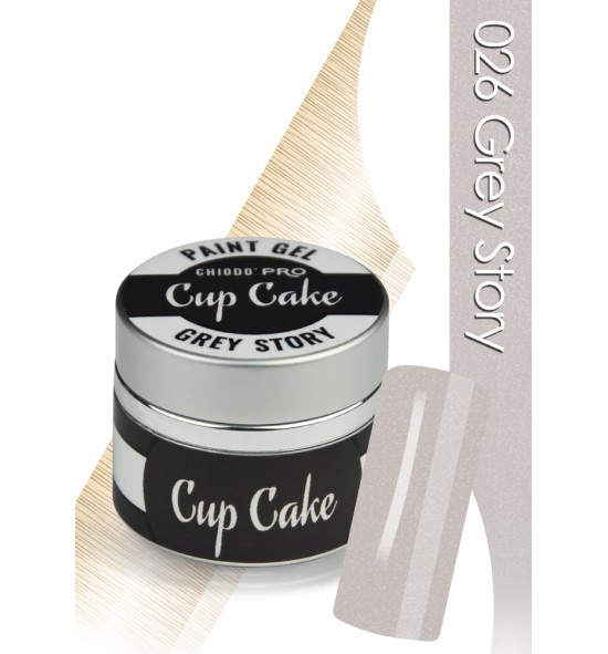 Chiodo Pro  Żel linia cup cake grey story 026
