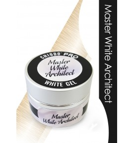 Chiodo PRO Żel budujący MASTER  WHITE ARCHITECT 15 ML.