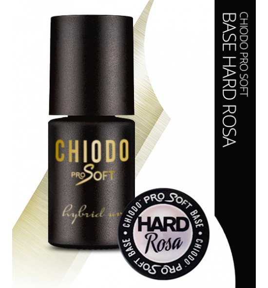 CHIODO PRO SOFT BASE HARD ROSA 6ML.