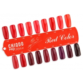 CHIODO PRO COLLECTION MY CHOICE WZORNIK RED COLOR