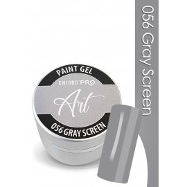 CHIODO PRO Art Paint Gel - 056 Grey Screen 5 ml