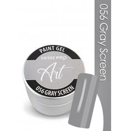 CHIODO PRO Art Paint Gel - 056 Grey Screen 5 ml