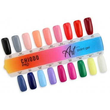 CHIODO PRO wzornik Art Paint Gel