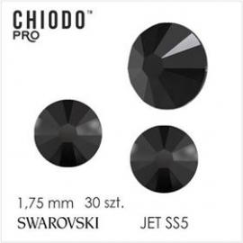 Chiodo PRO Cyrkonie Swarovski 30 SS 5 JET