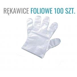 Rękawiczki Foliowe 100 szt.