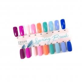 ChiodoPRO Wzornik kolorów kolekcji Spring Break