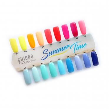 ChiodoPRO Wzornik kolorów kolekcji Summer Time