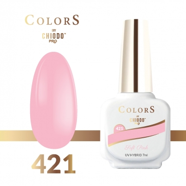 Lakier hybrydowy Colors By ChiodoPRO nr 421 Soft Pink 7 ml