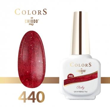Lakier hybrydowy Colors By ChiodoPRO nr 440 Ruby 7 ml