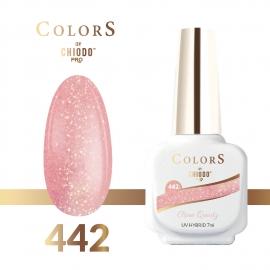 Lakier hybrydowy Colors By ChiodoPRO nr 442 Rose Quartz 7 ml