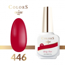 Lakier hybrydowy Colors By ChiodoPRO nr 446 Lady Red 7 ml